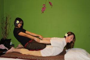 thajská klasická masáž